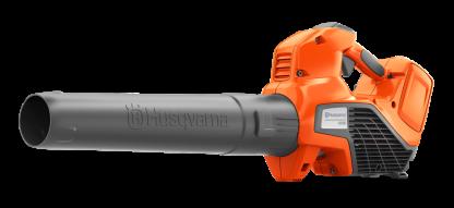 oranžs husqvarna akumulatora lapu pūtējs