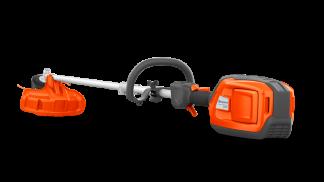 husqvarna akumulatora kombi trimmeris pilnā garumā