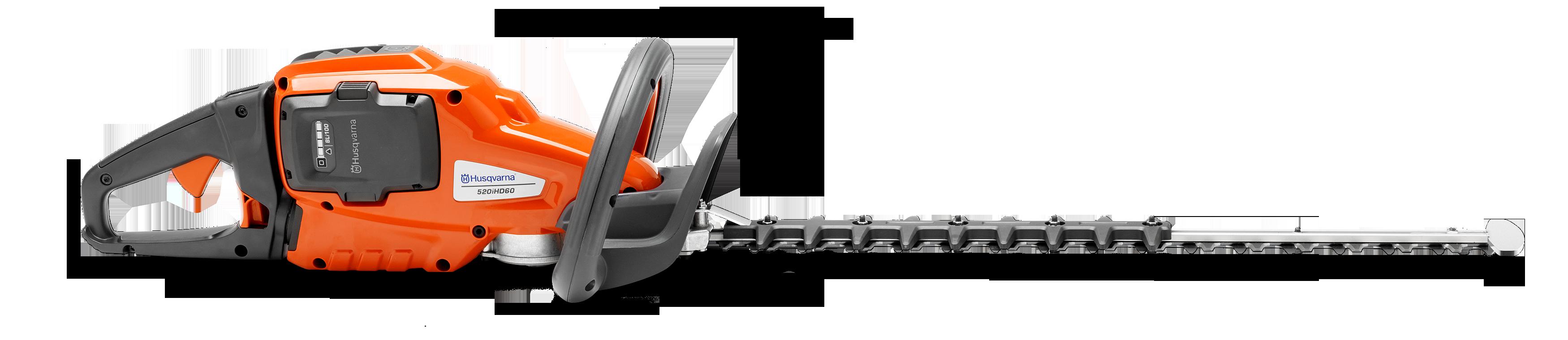 Oranžas Husqvarna Dzīvžogu šķēres, modelis ''520IHD60'