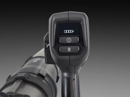 akumulatora lapu pūtēja vadības pogas