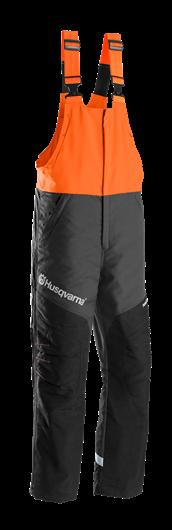 Melnas ar oranžu Husqvarna lenču aizsargbikses, modelis ''Functional''