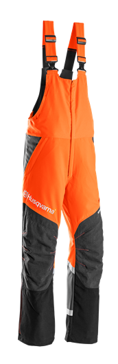 Melnas ar oranžu Husqvarna lenču aizsargbikses, modelis ''Technical''