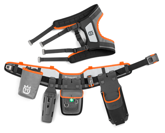 Husqvarna instrumentu jostas FLEXI komplekts ar aksesuāru somu