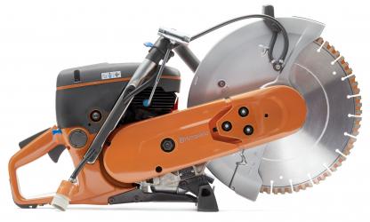 Oranžs Husqvarna spēka zāģis, K 770 14 modelis