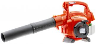 Oranža Husqvarna rotaļlieta - lapu pūtējs